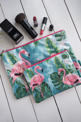 Flamingo Makeup Pouch