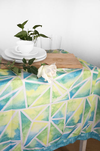 Sea Triangles Tablecloth