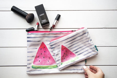 Watermelon Makeup Pouch