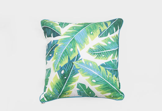Tropical Leaves Floor Cushion