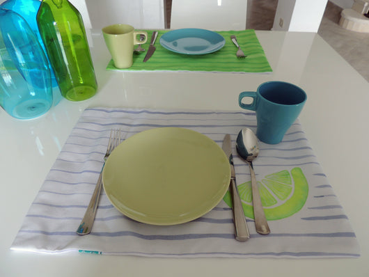 Lime Mojito Placemats