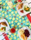 Raspberry Lemonade Table Runner