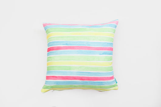 Bright Stripes Cushion