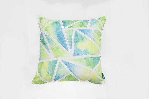 Sea Triangles Cushion