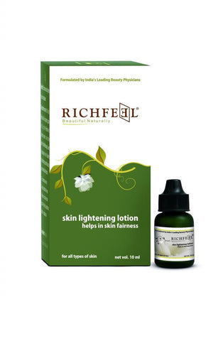 Richfeel Skin Lightening Lotion Helps In Skin Fairness - 10 g