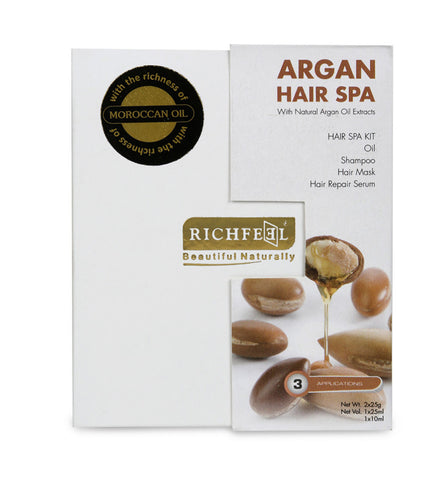 Argan Hair Spa Kit