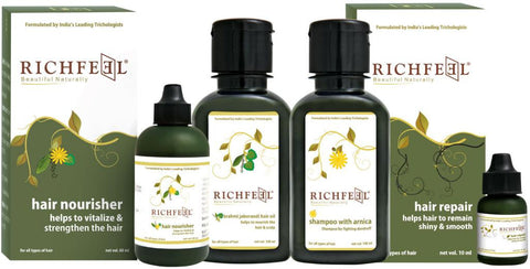 Richfeel Hair Strenghtening Combo Kit