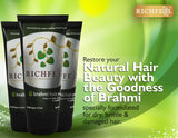 Richfeel Brahmi Hair Pack (100 g) For Nourishing, Conditioning & Reducing Hair Fall