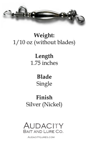 Silver Single-Blade Body (1/10 oz)