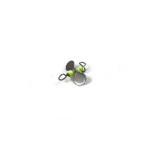 Turbo Bug 3/32 Chartreuse Body Silver Prop