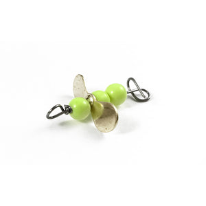 Turbo Bug 7/32 Chartreuse Body Gold Prop