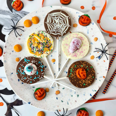 Halloween Letterbox Lollipop Set