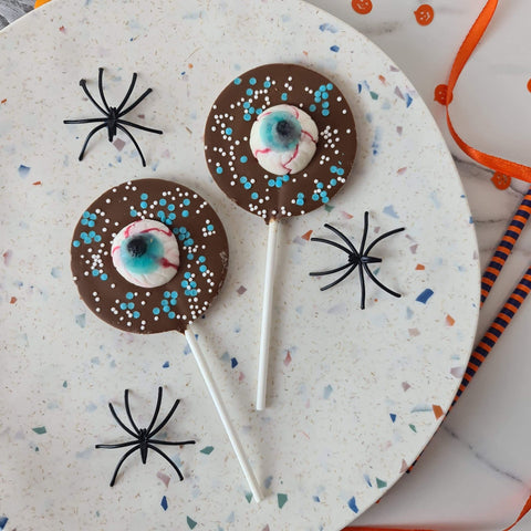 Milk Chocolate Eyeball Halloween