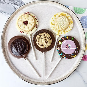 Biscuit Bonanza Letterbox Lollipop Set