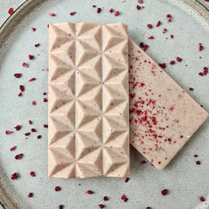 Freeze Dried Raspberry Pyramid Bar