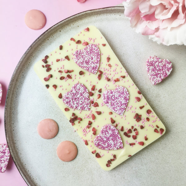 Non Alcoholic Valentine's White Chocolate Trio
