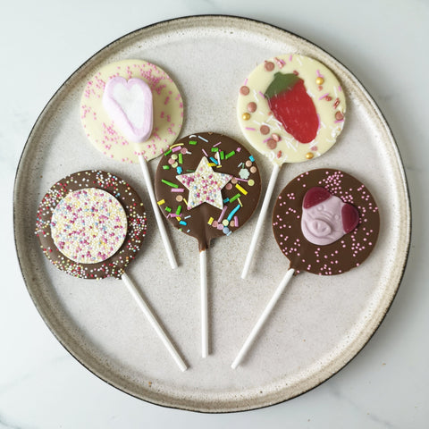 Sweet Sensation Letterbox Lollipop Set