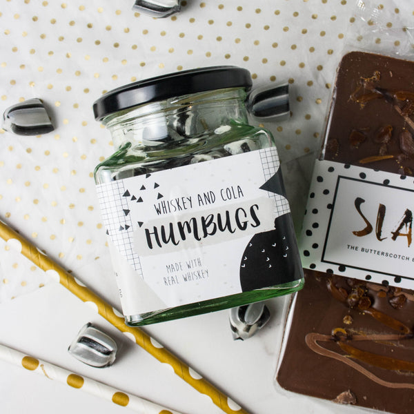Whiskey Lover's Sweets and Chocolate Set