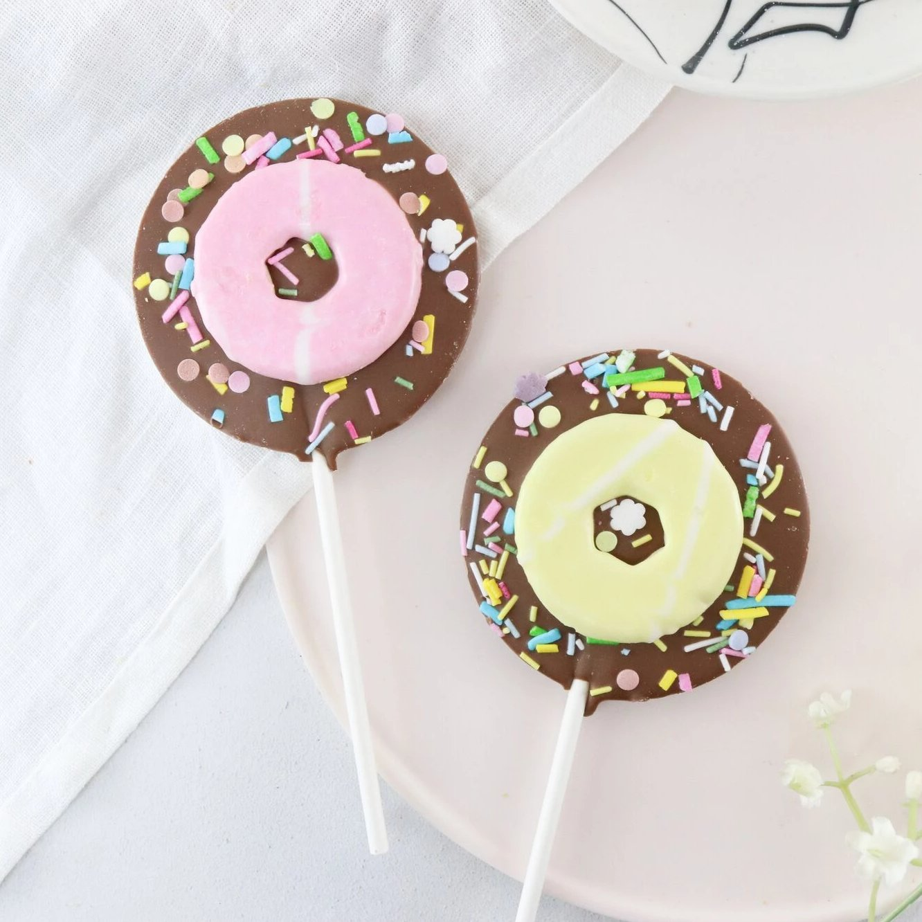Milk Chocolate Party Ring Lollipop