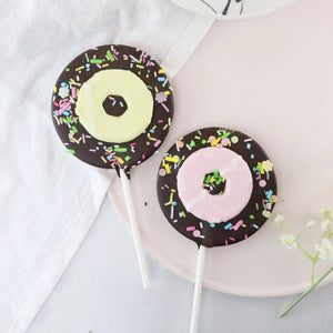 Dark Chocolate Party Ring Lollipop