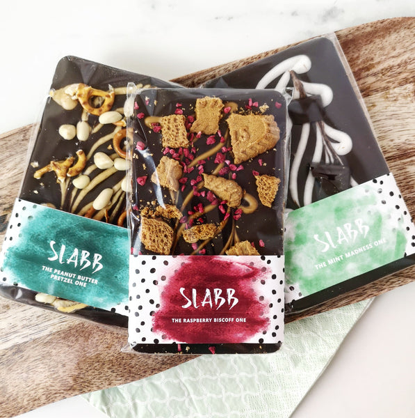 Vegan Trio Bundle - The Home Of Fully Loaded boozy Chocolate. Large Slabbs of boozy chocolate with a variety of alcoholic ganaches; gin, rum, whisky, amaretto, baileys and toppings. Available as monthly subscriptions.
