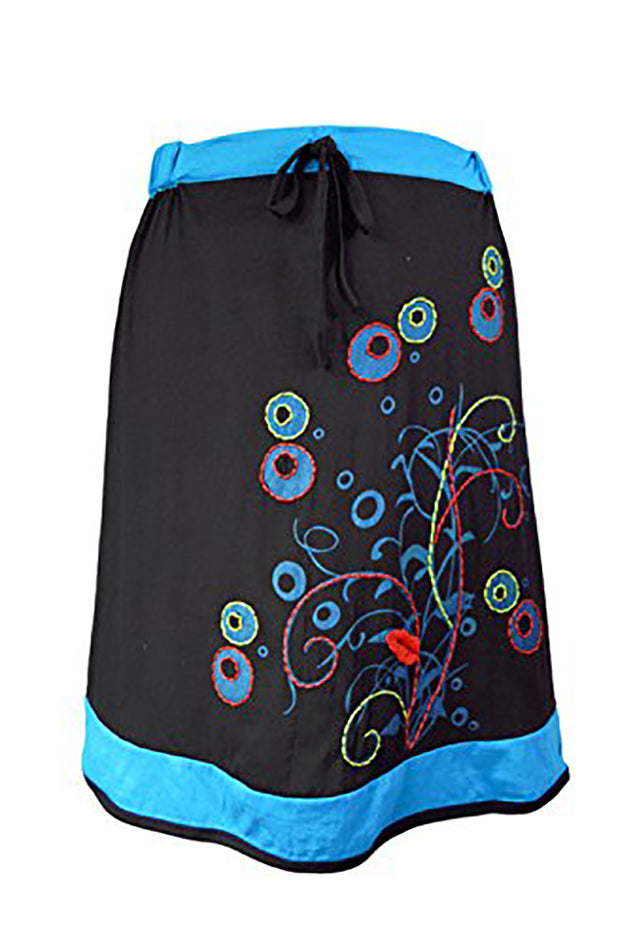 Ladies Colorful Embroidered Skirt. - Craze Trade Limited