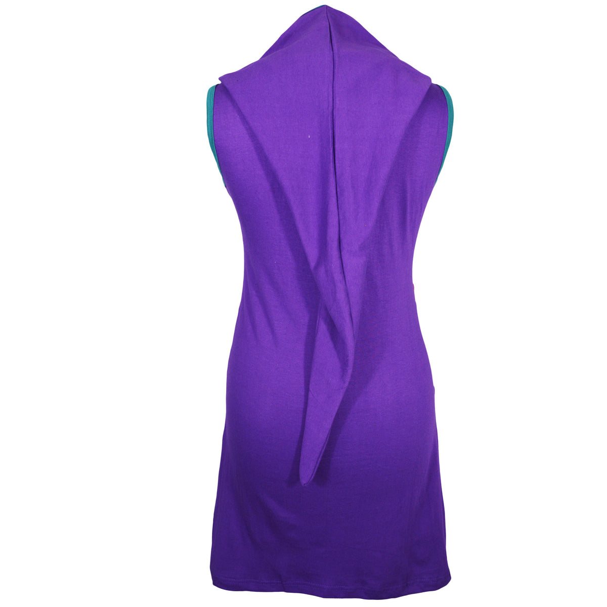 Women Sleeveless dress with hood and patch Design- NEW BINDU - Craze Trade Limited