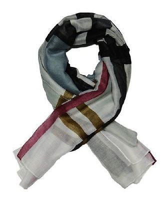 Ladies elegant and Fashionable viscose printed scarf - LARGE CHECKERED (YSSF001) - Craze Trade Limited