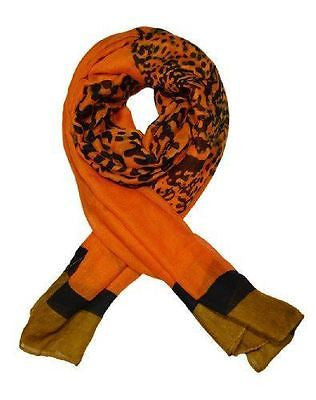 Ladies elegant and Fashionable viscose printed scarf - LEOPARD PRINT - Craze Trade Limited