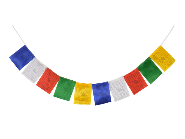 Silk Tibetan Buddhist Prayer Flags (Lungta)with Approx 400 Mantras, Wind Horses-FH-FLAG-104(S1) - Craze Trade Limited