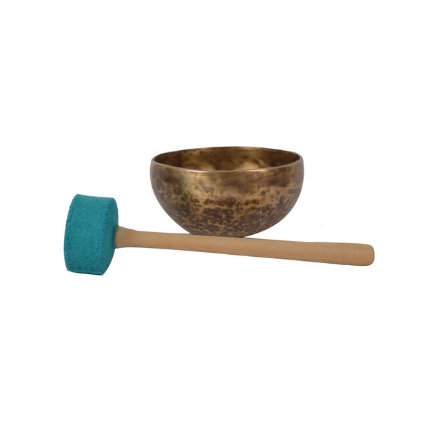 Bermoni Chakra Embroidery Felt Wooden Stricker Mallet for Singing Bowl & Gong (STK1110) - Craze Trade Limited