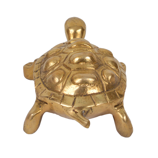 Bermoni Tortoise Metal Statue Décor (TH-TUR-1054-GLD) - Craze Trade Limited