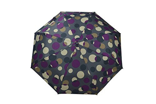 Folding Umbrella with AUTOMATIC opening. Water & Wind RESISTANT. Pattern of Bubbles in 4 different colors (3617A) - Craze Trade Limited