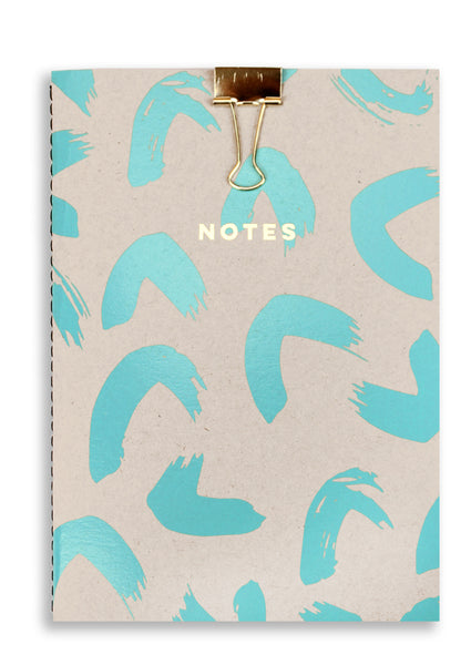 Nineteen Seventy Three A5 Notebook Silk Brush Stroke