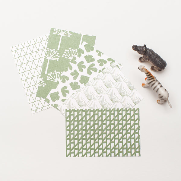 "10 Gift Tags ""Sage Green"" Jessica Nielsen"