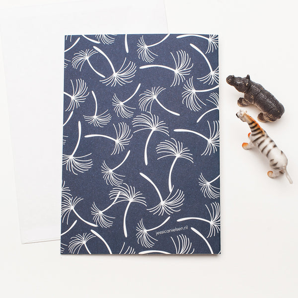 "A6 Jessica Nielsen Greeting Card + Envelope ""Tube Worm"""
