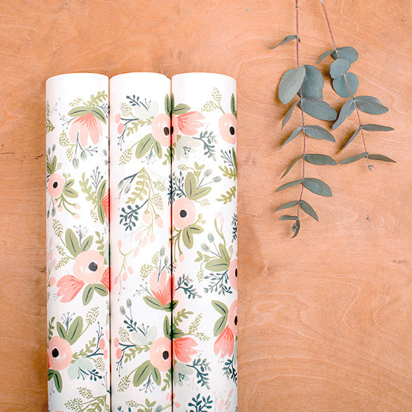 "Rifle Paper Co. ""Wild Flowers"" Wrapping Paper"
