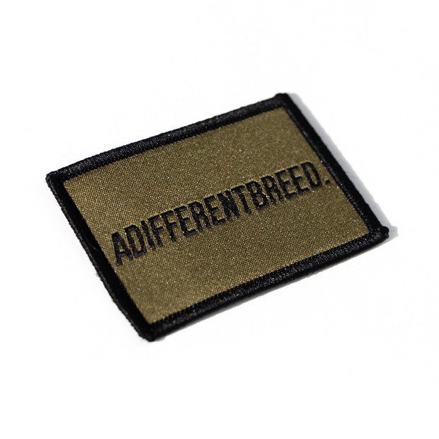 ADIFFERENTBREED Morale Patch - Olive Drab/Black