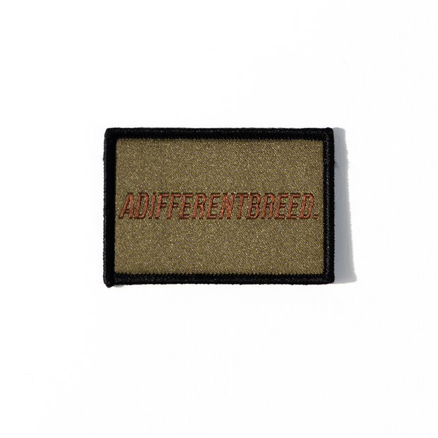 ADIFFERENTBREED Morale Patch - Olive Drab/Spice Brown