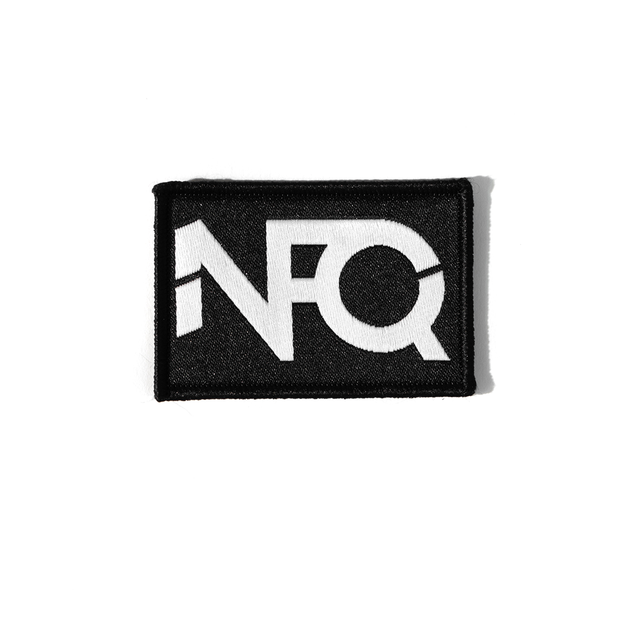 Modern Logo Morale Patch - Black/White