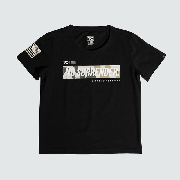 Women's No Surrender - Black/Camo