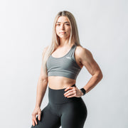 Essence Sports Bra - Grey