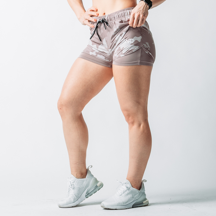 Women's Rose Desert Hyper-Active Training Shorts™