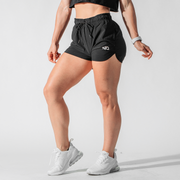 Women's Black Performance Training Shorts™