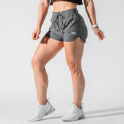 Women's Charcoal Performance Training Shorts™