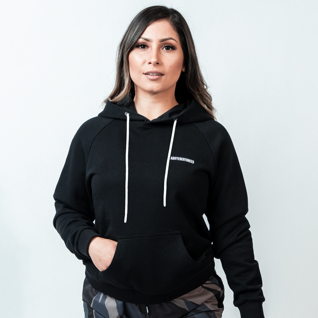 Women's A Different Breed Athletic Hoodie - Black (PRE-ORDER)