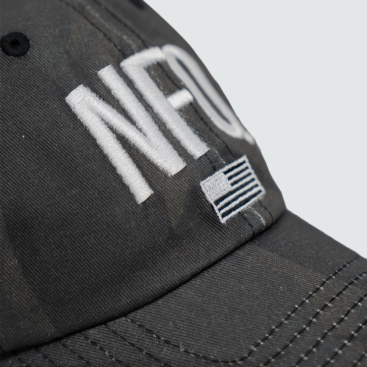 Classic Logo Hat - Distressed Tigertac/Black