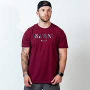 NEVERQUIT - Maroon/Tigertac