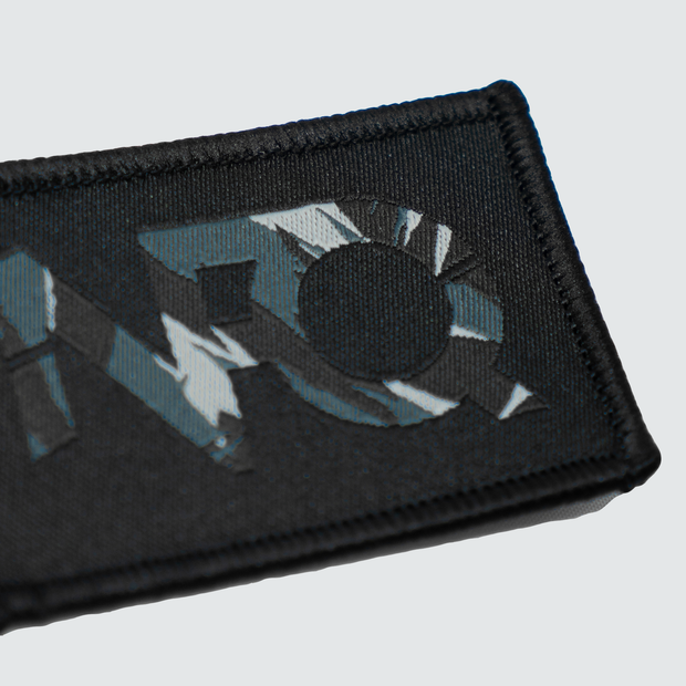 Modern Logo Patch - Black/Tigertac