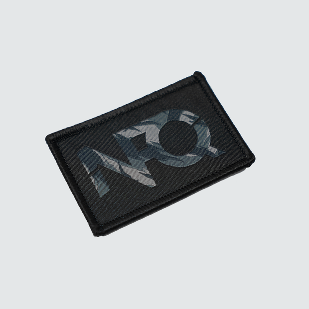 Modern Logo Patch - Black/Midnight Tigertac